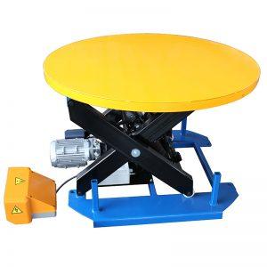 HRL1000固定式升降台,带转盘式转盘